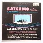 ARMSTRONG, Louis - Satchmo At Pasadena - DECCA DL 8041 моно, концерт '51 года, очень приятно звучит, по музыке естественно чудо