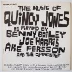 BAILEY, Benny - The Music Of Quincy Jones - ARGO LP-668 моно оригинал, промо-копия, оркестр квинси плюс несколько звезд европейских исполняют вещи квинси
