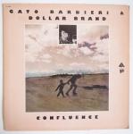 BARBIERI, Gato BRAND, Dollar - Confluence - ARISTA AL 1003 мощнейший дуэтный авангардный замес, сакс - фоно