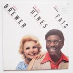 BREWER, Teresa HINES, Earl - We Love You Fats - DOCTOR JAZZ DJRX 60008 запечатанный оригинал, тереза встречается с хайнсом, уровень поддерживает продюсер лейбла боб тиль!
