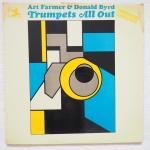 FARMER, Art BYRD, Donald - Trumpets All Out - PRESTIGE PR 7344 две пластинки, 7062 и 7092 вместе, естественно по музыке класс, запись тоже сохранили