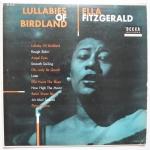 FITZGERALD, Ella  - Lullabies Of Birdland - DECCA DL 8149 моно оригинал, на вид все очень плохо, но первая сторона на удивление играет, вторая - трещит совсем