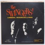 LAMBERT, HENDRICKS & ROSS  - The Swingers - PACIFIC JAZZ WP-1264 моно оригинал, по музыке замечательная, пожалуй самая их джазовая запись, с прекрасным набором музыкантов, внешне чистая, но потрескивает, поэтому подешевле