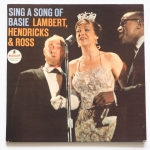 LAMBERT, HENDRICKS & ROSS - Sing A Song Of Basie - IMPULSE AS-83 стерео, изначально на abc-paramount выходила, а тут почистили, красиво стало совсем, ну и пластинка конечно знаковая, главная в жанре вокализа