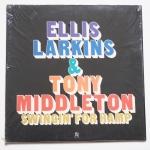 LARKINS, Ellis MIDDLETON, Tony - Swingin' For Hamp - CONCORD JAZZ CJ-134 оригинал, тони замечательный певец с очень приятным голосом, а эллис первоклассный аккомпаниатор