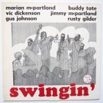 MCPARTLAND, Jimmy TATE, Buddy - Swingin' - HALCYON HAL 114 оригинал, собственно на лейбле мэриан, отличный концерт в отеле, атмосфера интимная, джимми кое-где даже поет