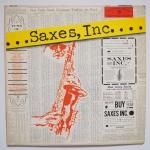 PRINCE, Bob - Saxes, Inc - WARNER BROS. W 1336 моно оригинал очень интересная история, 13 суперских саксофонистов. аранжирует классно некий боб принц, звучит здорово