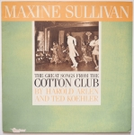 SULLIVAN, Maxine - Great Songs From The Cotton Club (♫)