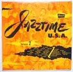 VARIOUS ARTISTS - Jazztime USA Vol. 2 - BRUNSWICK BL 54001 моно оригинал, очень интересная пластинка, здорово звучит, концерт 53го, поэтому разные музыканты, тут даже мундог играет