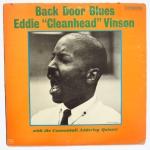 VINSON, Eddie - Back Door Blues - RIVERSIDE RLP 3502 моно оригинал, сильная по музыке и записи, с бендом эддерли, поет блюзы еще к тому же, супер