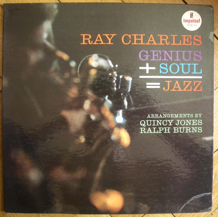 ray charles - genius plus soul impulse a-2