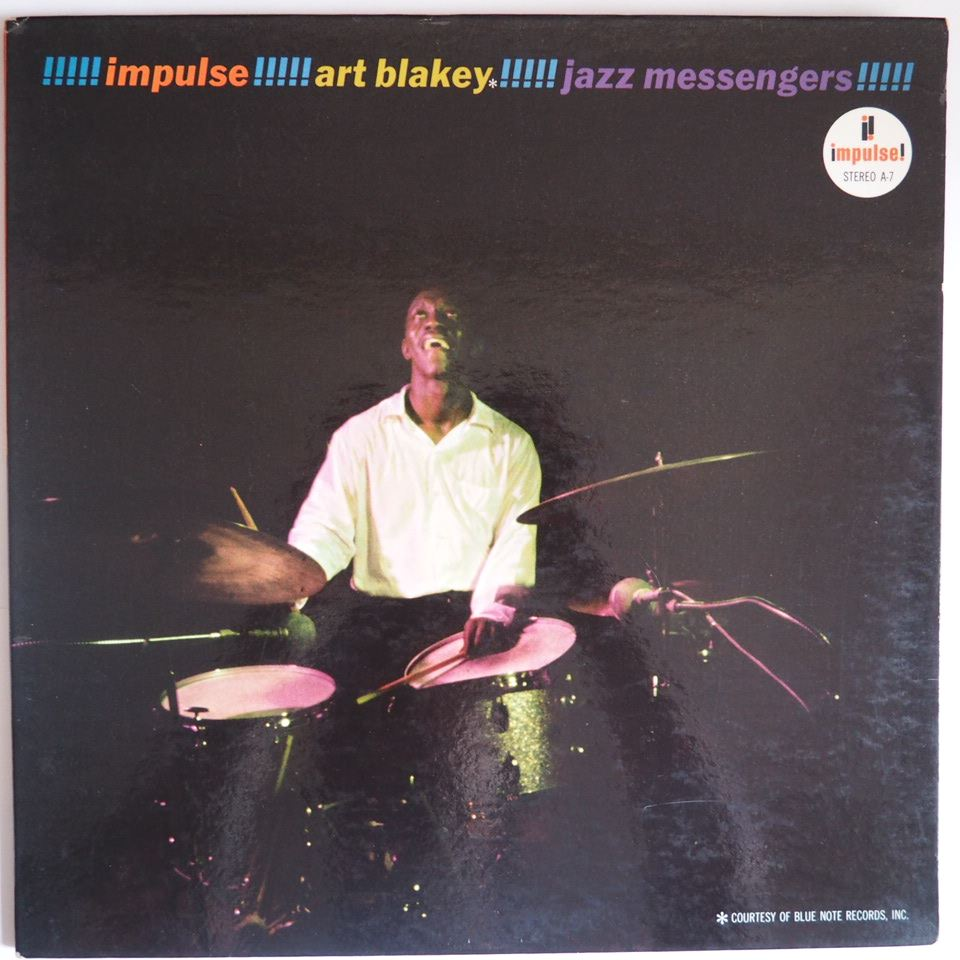 art blakey - jazz messengers impulse a-7