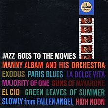 manny albam - jazz goes to movies