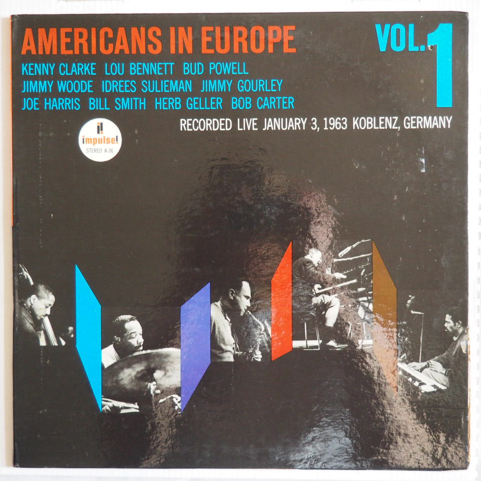 americans in europe vol.1 impulse a-36