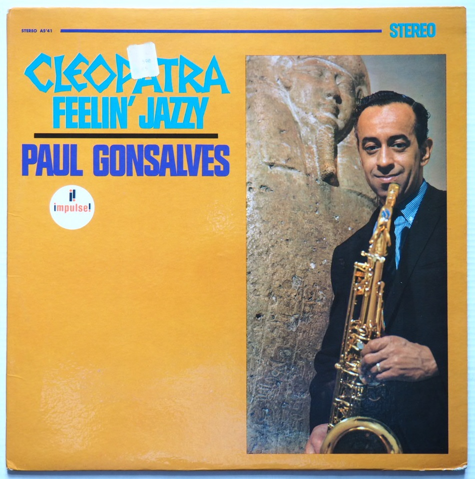 paul gonsalves - cleopatra feelin' jazzy impulse a-41