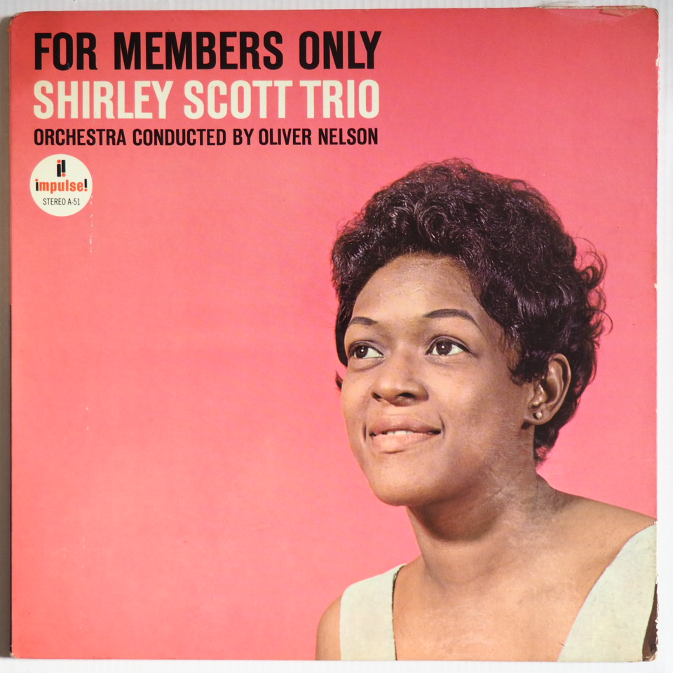 shirley scott - for members only impulse a-51
