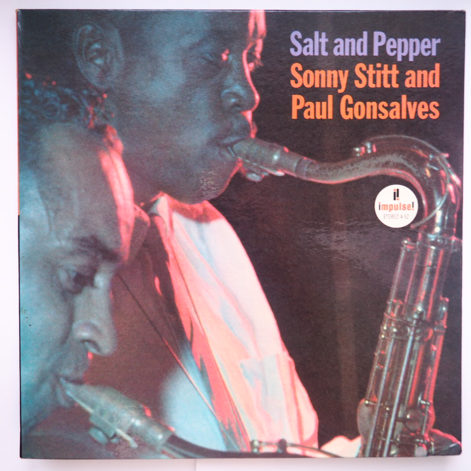 sonny stitt - paul gonsalves - salt and pepper impulse a-52