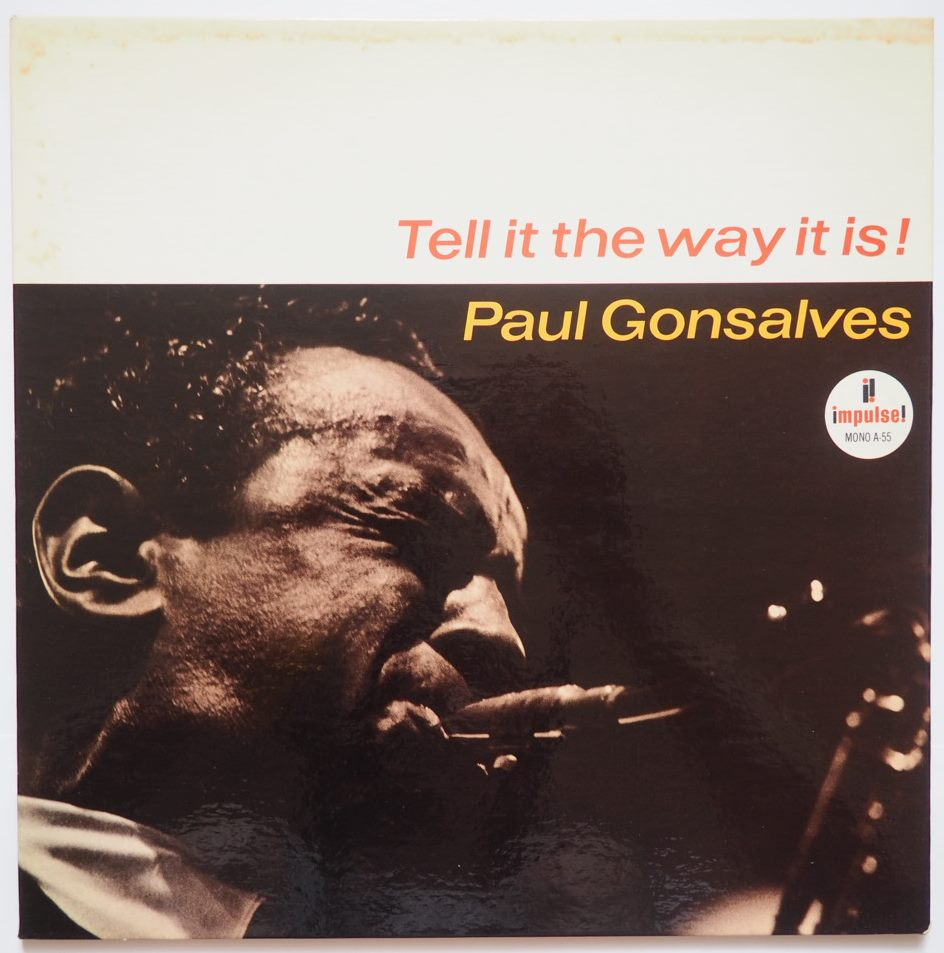 paul gonsalves - tell it the way it is impulse a-55