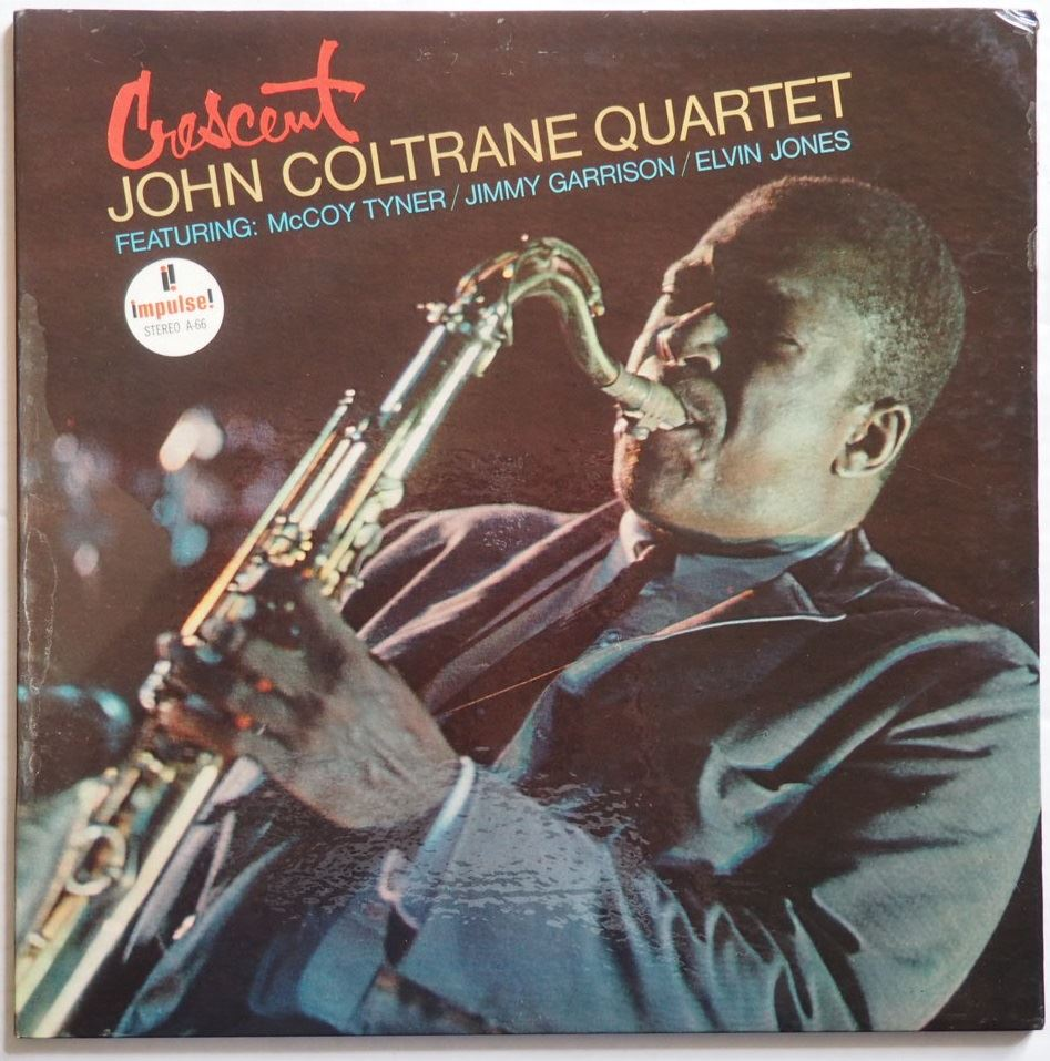 john coltrane - crescent impulse a-66