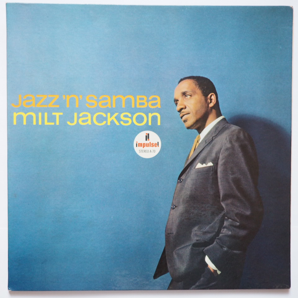 milt jackson - jazz'n'samba impulse a-70