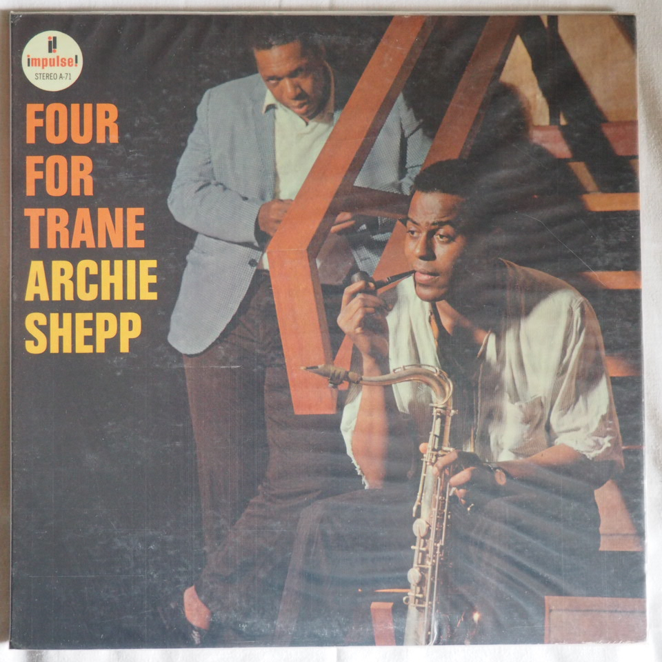 archie shepp - four for trane a-71
