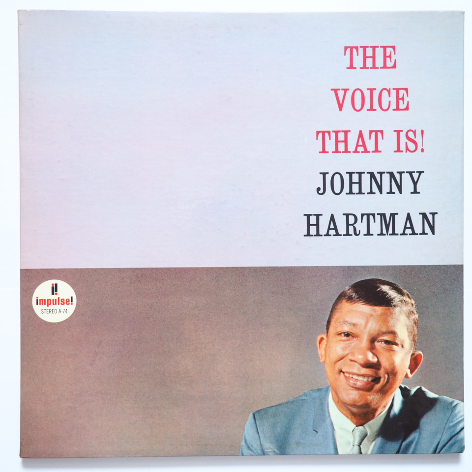 johnny hartman - the voice that is impulse a-74