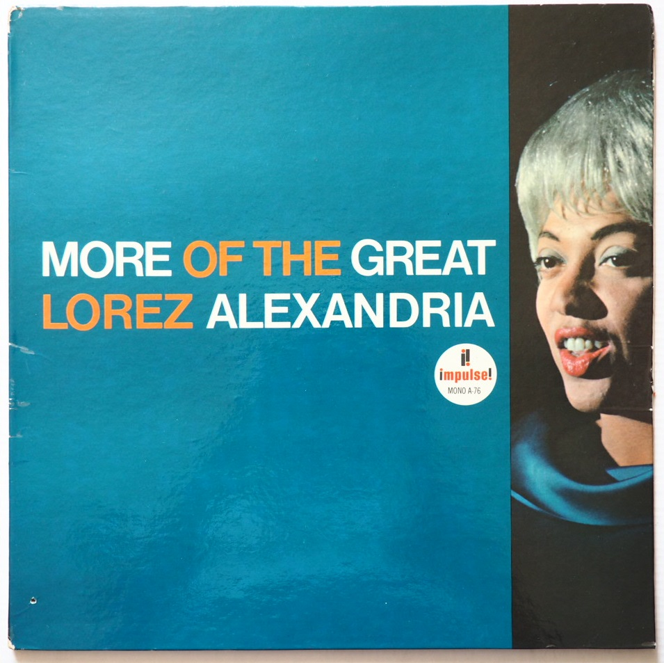 lorez aleandria - more of the great impulse a-76