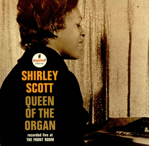 shirley scott - queen of the organ impulse a-81