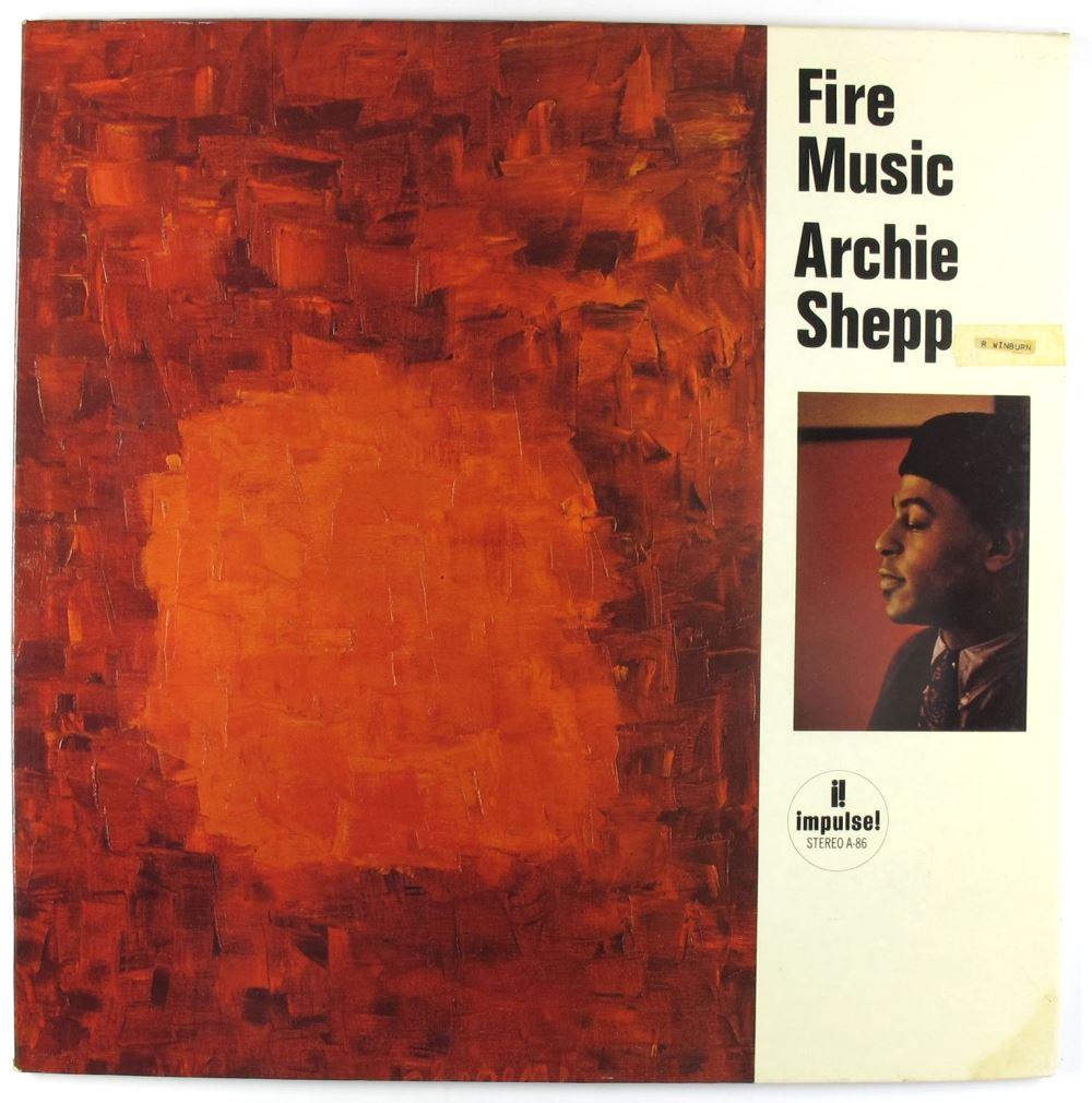 archie shepp - fire music impulse a-86