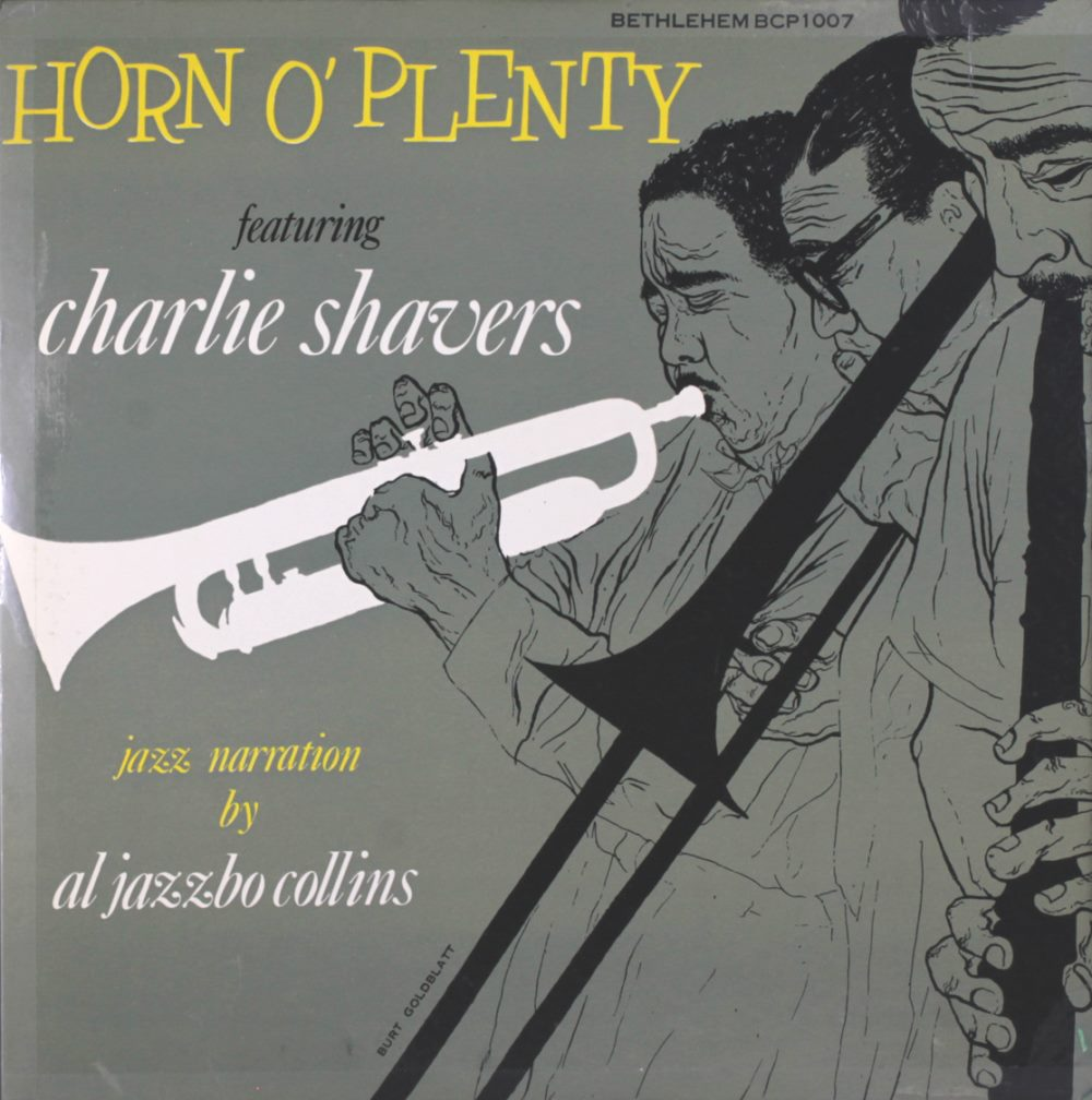 charlie shavers - horn of plenty 1007