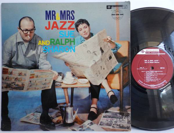 ralph sharon - sue ryan - mr and mrs jazz 13
