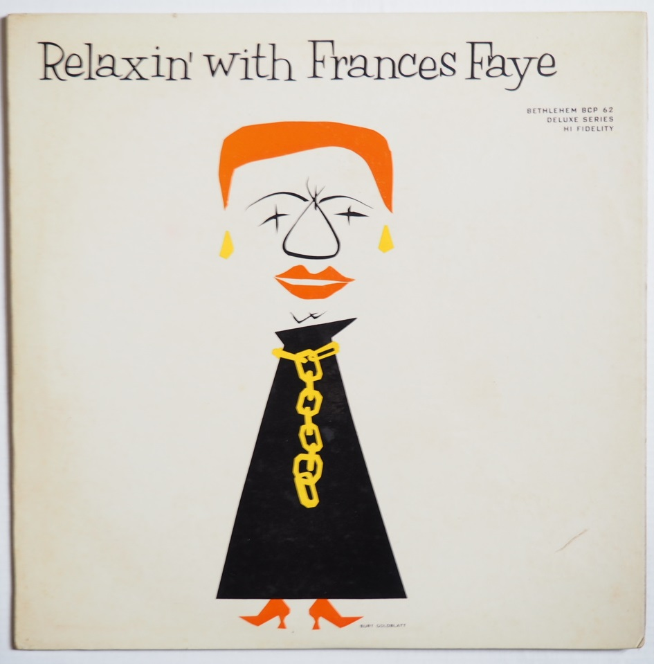 frances faye - relaxin' with 62