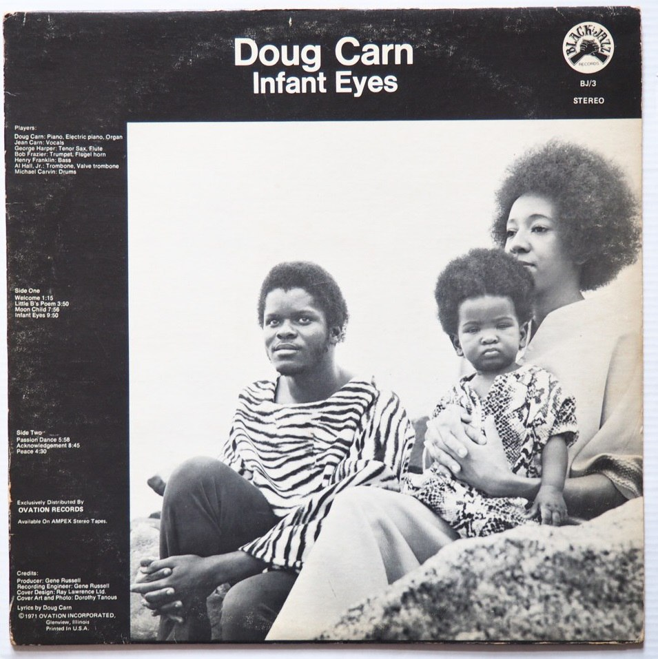 doug carn - infant eyes black jazz