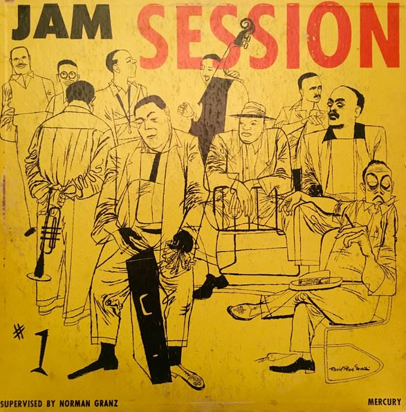 norgan granz jam session vol 1 mgc 601