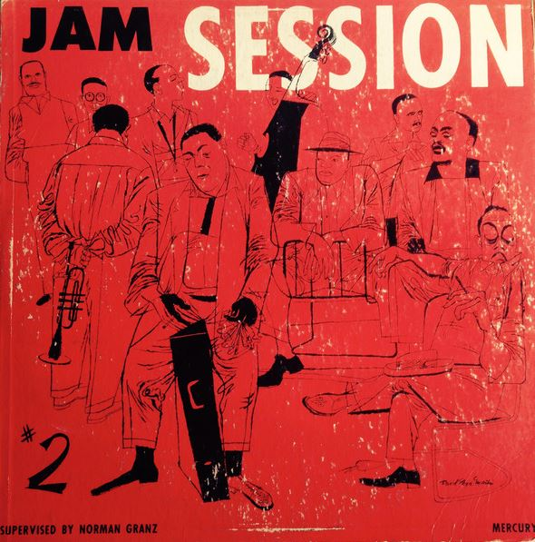 norman granz jam session vol 2 mgc 602