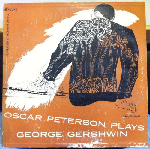 oscar peterson plays george gershwin mgc 605