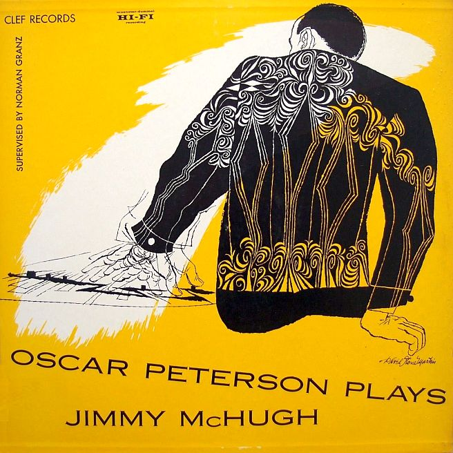 oscar peterson - plays jimmy mchugh 650