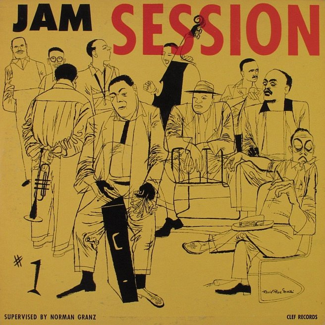 norman granz jam session 1 mgc 651