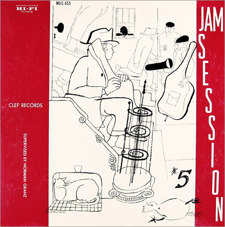 norman granz jam session #5 655