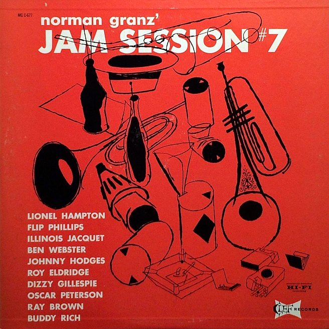 norman granz jam session mgc 677