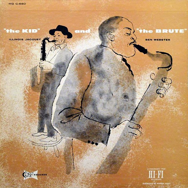 illinois jacquet ben webster - the kid and the brute 680