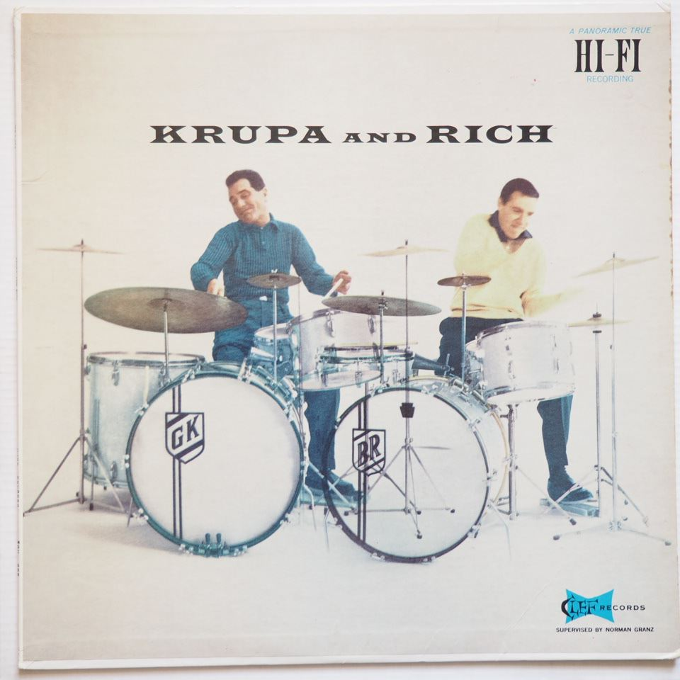 gene krupa - buddy rich - krupa and rich 684
