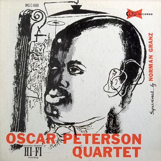 oscar peterson quartet vol 1 mgc 688