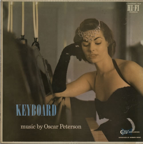 oscar peterson - keyboard 697