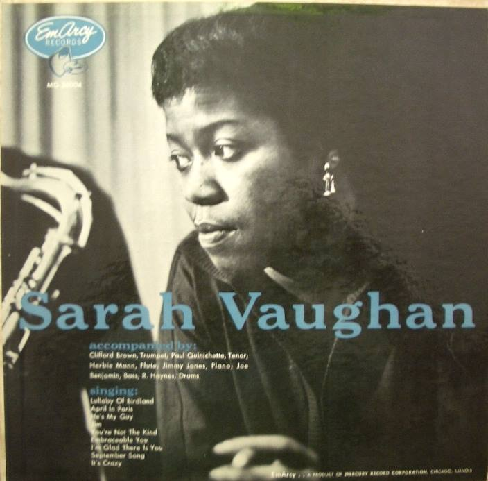 Sarah Vaughan - Self Titled 36004