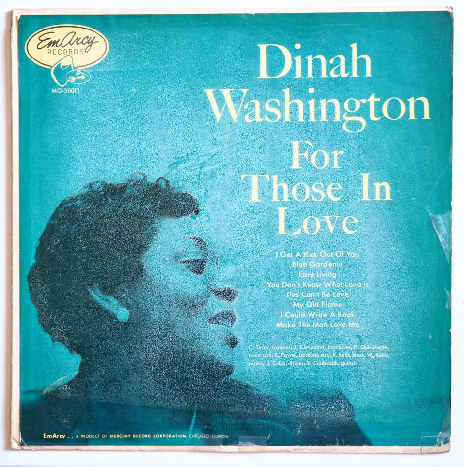 dinah washington for those in love 36011