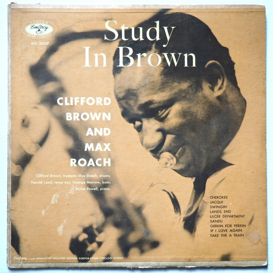clifford brown - study in brown 36037
