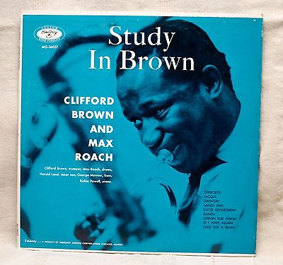 clifford brown - study in brown blue 36037