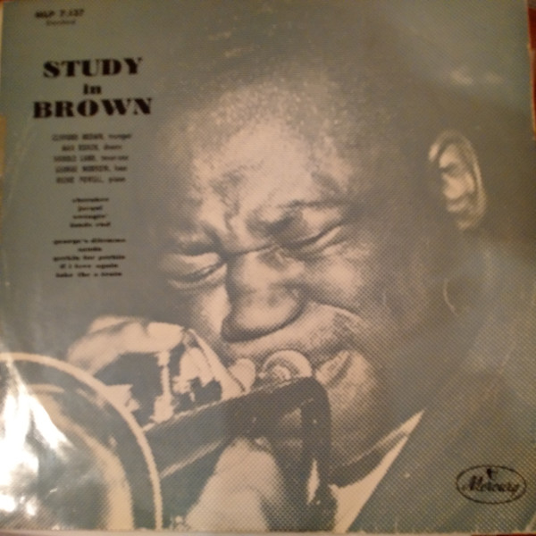 clifford brown - study in brown france