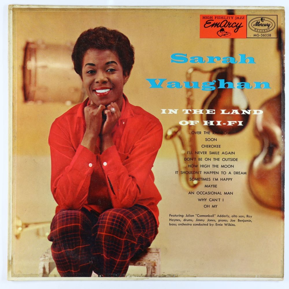sarah vaughan - in the land of hifi 36058